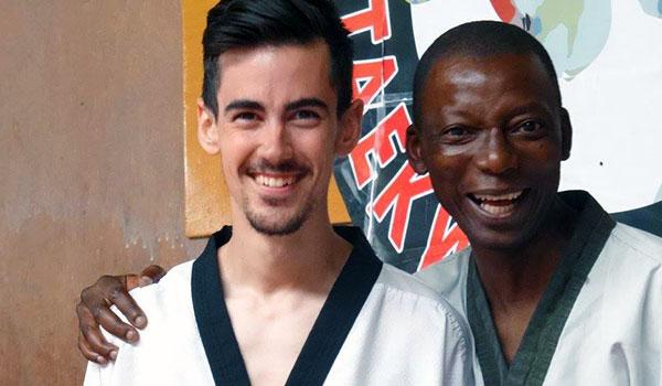 Rudy Caillet et Ulrich Abaga : professeurs de taekwondo à Poitiers (86)