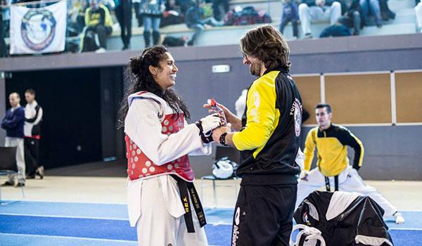 Rodrigo Lacattiva, coach et professeur principal de taekwondo (Gwanyong Taekwondo 86)