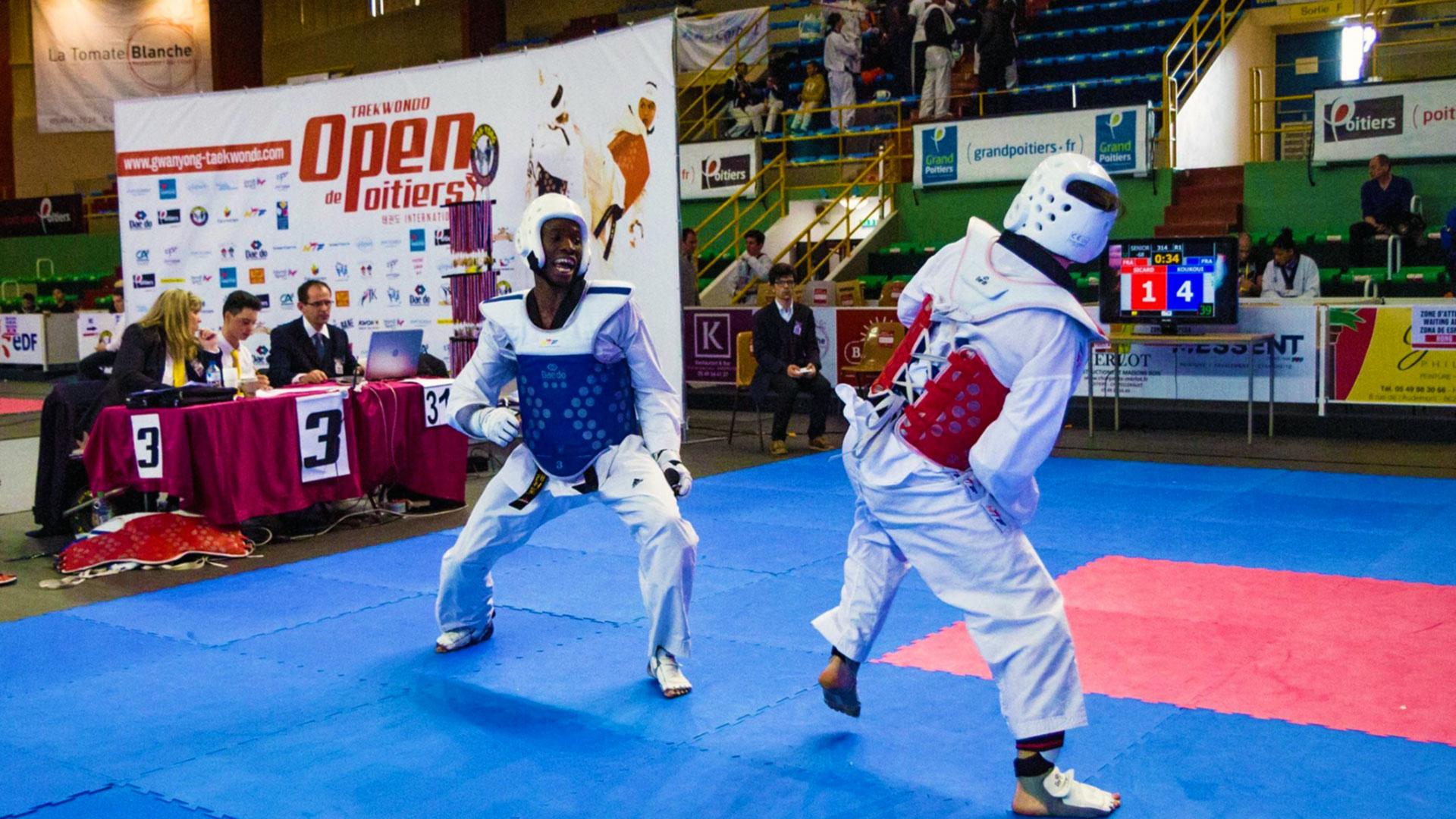 Open international de taekwondo de Poitiers (86) | Gwanyong Taekwondo Kwan