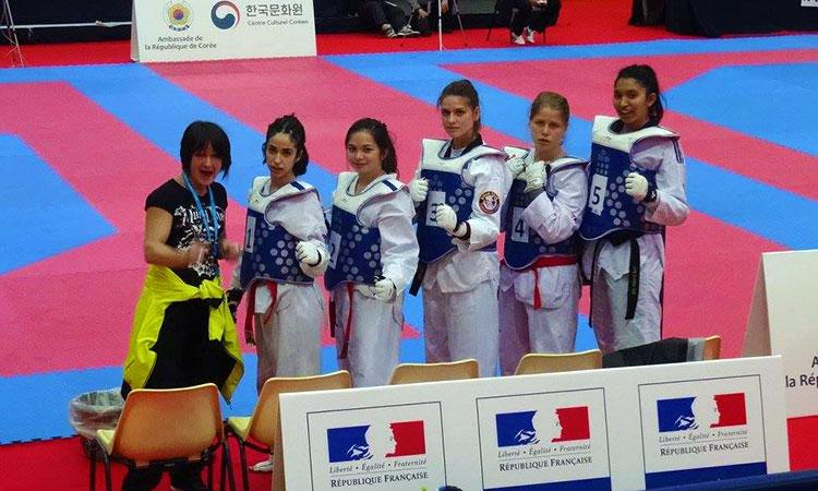Coupe de l'ambassadeur de taekwondo - équipe de Poitiers (86) - Gwanyong Taekwondo Kwan